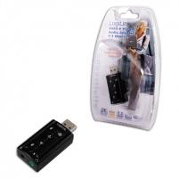 Logilink UA0078, USB Audio adapter 7.1 sound effect