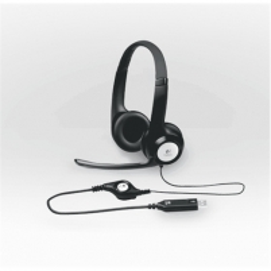 Logitech Headset H390, USB, Black