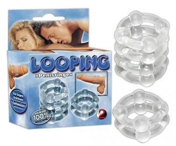 Looping varpos žiedai Penio žiedai