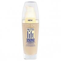 LOREAL Nutrilift Gold Anti-Ageing Serum Foundation 160 Rose Beige 25ml Makiažo pagrindas veidui