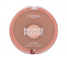 L´Oréal Paris Bronze Please! 01 Bronzer 18g Blush facials