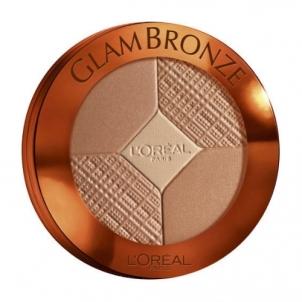 L´Oreal Paris Glam Bronze Sunkissed Palette Cosmetic 16g Pudra veidui