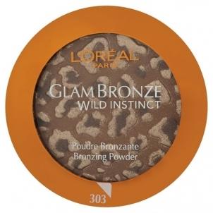 L´Oreal Paris Glam Bronze Wild Instinkt Bronzing Powder Nr.303 7,5g Pudra veidui