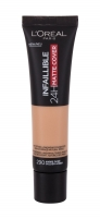 L´Oréal Paris Infallible 290 Golden Amber 24H Matte Cover Makeup 30ml Pamatojoties uz make-up uz sejas