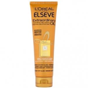 Loreal Paris Silk oil in the cream ELSEV Extraordinary Oil 150 ml Plaukų stiprinimo priemonės (fluidai, losjonai, kremai)