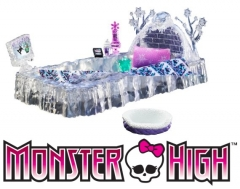 Lova Mattel Monster High Y0403 / Y2867 Abbey's Ice Bed Playset