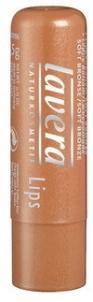 Lūpų balzamas bronzoz Lavera, kosmetikos 4,5g Blizgesiai lūpoms