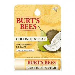 Lūpų balzamas Burt´s Bees (Hydrating Coconut & Pear Lip balm) 4,25 g Blizgesiai lūpoms