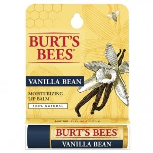Lūpų balzamas Burt´s Bees (Moisturizing Vanilla Bean Lip Balm) 4,25 g Blizgesiai lūpoms