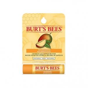 Lūpų balzamas Burt´s Bees (Nourizing Mango Lip Balm) 4,25 g Blizgesiai lūpoms