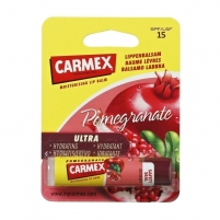 Lūpų balzamas Carmex Pomegranate Lip Balm 4,25g SPF15 Glitter lips