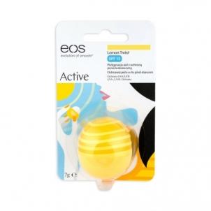 Lūpų balzamas EOS Lip Balm SPF15 Cosmetic 7g Shade Lemon Twist Blizgesiai lūpoms