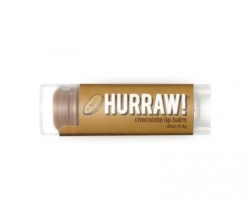 Lūpų balzamas Hurraw! (Chocolate Lip Balm) 4,3 g Blizgesiai lūpoms