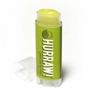 Lūpų balzamas Hurraw! (Green Tea Lip Balm) 4,3 g Blizgesiai lūpoms