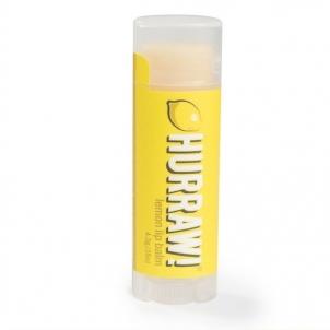 Lūpų balzamas Hurraw! (Lemon Lip Balm) 4,3 g Blizgesiai lūpoms