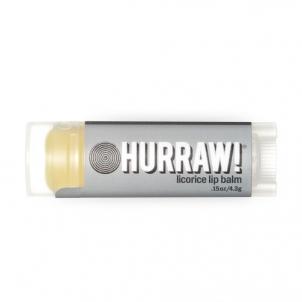 Lūpų balzamas Hurraw! (Licorice Lip Balm) 4,3 g Blizgesiai lūpoms