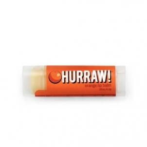 Lūpų balzamas Hurraw! (Orange Lip Balm) 4,3 g Blizgesiai lūpoms