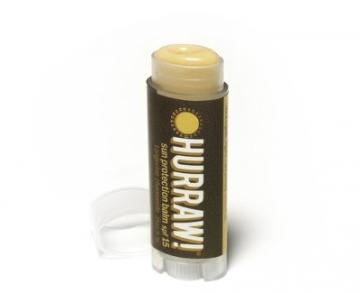 Lūpų balzamas Hurraw! (Sun SPF 15 Lip Balm) 4,3 g Blizgesiai lūpoms