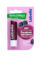Lūpų balzamas Labello Melt-In Blackberry Shine Lip Balm 4,8g Blizgesiai lūpoms
