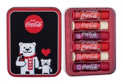 Lūpų balzamas Lip Smacker Coca-Cola Lip Balm Lip Balm 4g Blizgesiai lūpoms