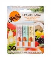 Lūpų balzamas Malibu Lip Care Watermelon Lip Balm 4g SPF30 Blizgesiai lūpoms
