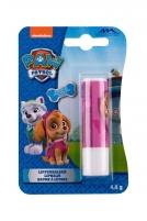 Lūpų balzamas Nickelodeon Paw Patrol Strawberry 4,8g Blizgesiai lūpas