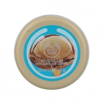 Lūpų balzamas The Body Shop Wild Argan Oil Solid Oil Lips Cosmetic 20ml Blizgesiai lūpoms