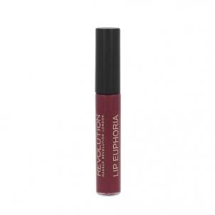 Lūpų blizgesys Makeup Revolution London Lip Euphoria Lip Colour Cosmetic 7ml Shade Fortune Blizgesiai lūpoms
