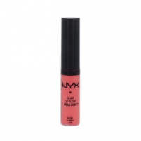 Lūpų blizgesys NYX Glam Lip Gloss Aqua Luxe Cosmetic 7ml Shade 08 Paint The Town Blizgesiai lūpoms