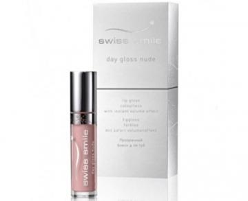 Lūpų blizgesys Swiss Smile Gloss for fuller lips Nude Day Gloss (Lip Gloss) 3.5 ml Blizgesiai lūpoms