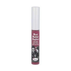 Lūpų blizgesys TheBalm Meet Matt(e) Hughes Long-Lasting Liquid Lipstick Cosmetic 7,4ml Shade Affectionate Blizgesiai lūpoms