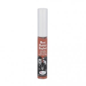 Lūpų blizgesys TheBalm Meet Matt(e) Hughes Long-Lasting Liquid Lipstick Cosmetic 7,4ml Shade Charismatic Blizgesiai lūpas