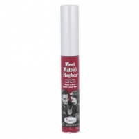 Lūpų blizgesys TheBalm Meet Matt(e) Hughes Long-Lasting Liquid Lipstick Cosmetic 7,4ml Shade Dedicated Blizgesiai lūpoms