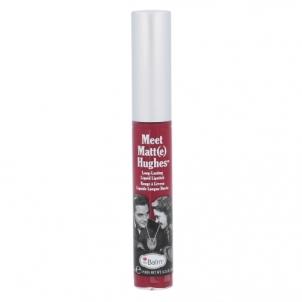 Lūpų blizgesys TheBalm Meet Matt(e) Hughes Long-Lasting Liquid Lipstick Cosmetic 7,4ml Shade Dedicated Blizgesiai lūpas