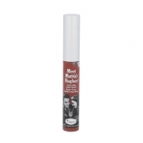 Lūpų blizgesys TheBalm Meet Matt(e) Hughes Long-Lasting Liquid Lipstick Cosmetic 7,4ml Shade Reliable Blizgesiai lūpoms