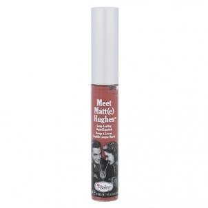 Lūpų blizgesys TheBalm Meet Matt(e) Hughes Long-Lasting Liquid Lipstick Cosmetic 7,4ml Shade Sincere Blizgesiai lūpoms