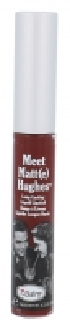 Lūpų blizgesys TheBalm Meet Matt(e) Hughes Long-Lasting Liquid Lipstick Cosmetic 7,4ml Shade Adoring Blizgesiai lūpoms
