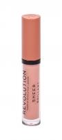 Lūpų blizgis Makeup Revolution London Sheer Brillant 101 Piece Of Cake 3ml Blizgesiai lūpoms
