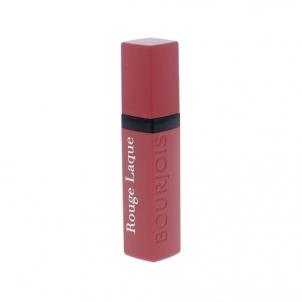 Lūpų dažai BOURJOIS Paris Rouge Laque Liquid Lipstick Cosmetic 6ml Shade 02 Toute Nude Lūpų dažai