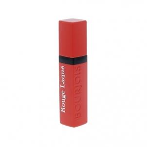 Lūpų dažai BOURJOIS Paris Rouge Laque Liquid Lipstick Cosmetic 6ml Shade 04 Selfpeach! Lūpų dažai