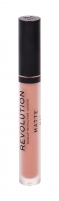 Lūpų dažai Makeup Revolution London Matte 101 Piece Of Cake 3ml Lūpų dažai