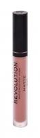 Lūpų dažai Makeup Revolution London Matte 110 Chauffeur 3ml Lūpų dažai