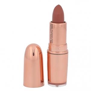 Lūpų dažai Makeup Revolution London Rose Gold Lipstick Cosmetic 4g Shade Chauffeur Lūpų dažai