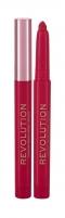 Lūpų dažai Makeup Revolution London Velvet Kiss Decadence Lip Crayon Lipstick 1,2g