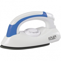 Lygintuvas Adler AD 5015 Travel Iron, Non-stick soleplate, Power: 800W Ironing equipment