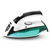 Lygintuvas Camry CR 5024 White/green/black, 840 W, Steam Travel iron, Vertical steam function, Water tank capacity 40 ml Ironing equipment