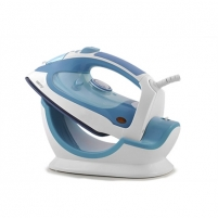 Lygintuvas Camry Steam iron CR 5026 White/ blue, 2200 W, Anti-drip function, Vertical steam function Gludināšanas iekārtas