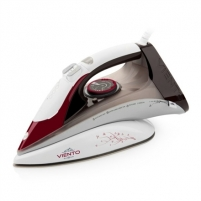 Lygintuvas ETA ETA628490020 Burgundy/ brown, 2400 W, Steam iron, Continuous steam 40 g/min, Steam boost performance 170 g/min, Auto power off, Anti-drip function, Anti-scale system, Vertical steam function, Water tank capacity 300 ml