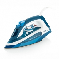 Lygintuvas Gallet GALFAR370 Blue/ white, 2400 W, Steam iron, Continuous steam 40 g/min, Steam boost performance 130 g/min, Anti-drip function, Anti-scale system, Vertical steam function, Water tank capacity 250 ml Lyginimo technika