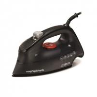 Lygintuvas Morphy richards 300260 EE Iron, 2400W, Ceramic Soleplate, Black
